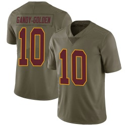 Nike Antonio Gandy-Golden Washington Redskins Limited Gold Green 2017 Salute to Service Jersey - Youth