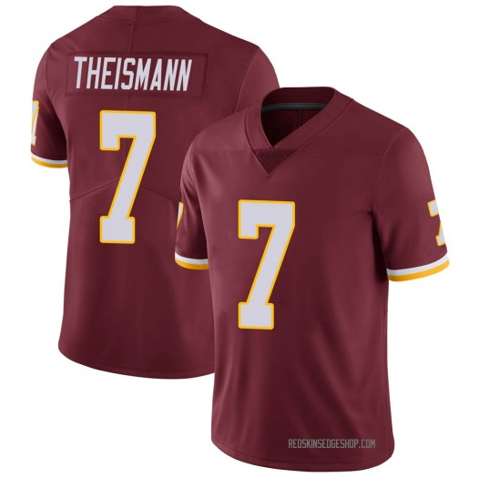 Nike Joe Theismann Washington Redskins Limited Burgundy 100th Vapor Jersey - Men's