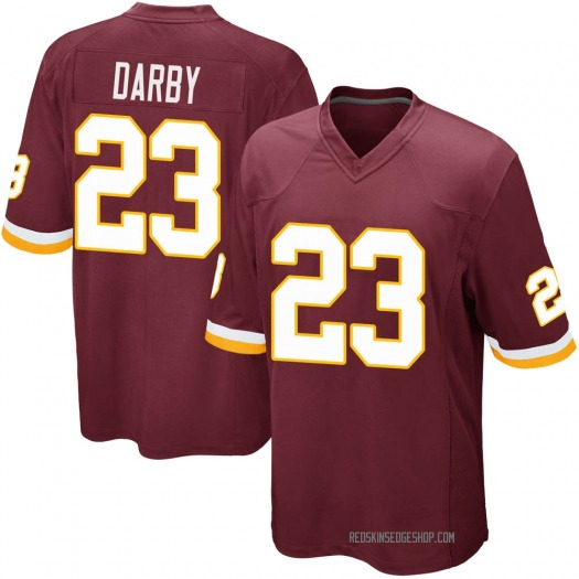 Nike Ronald Darby Washington Redskins Game Burgundy Team Color Jersey - Youth