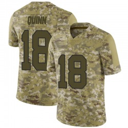 Nike Trey Quinn Washington Redskins Limited Camo 2018 Salute to Service Jersey - Men's
